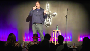 Dustin Tanner at Vermont Comedy Club in 2015