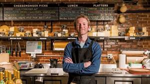 New Dedalus cheesemonger John O'Brien