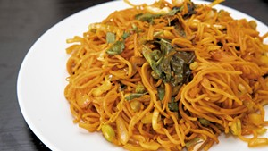 Vegetable Hakka noodles from Everest Indian-Nepali Restaurant
