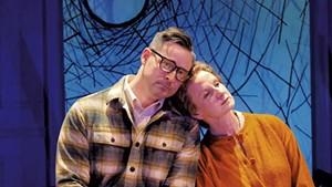 Thom Miller (left) and Carol Dunne