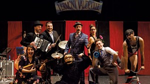 The cast of Vermont Vaudeville: Ten Years Later