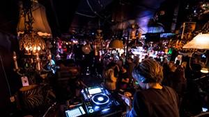 DJ Taka at the Light Club Lamp Shop