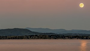 """Essex Moon Reflection"""