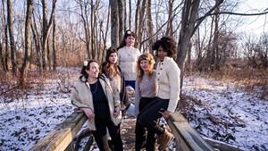 Amerykanka, from left: Alison Mott, Audrey Pirog, Rebecca Mack, Salka Thali and Stephanie Heaghney