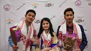 Voice of Glory top three contestants