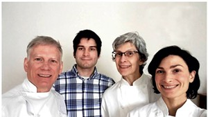 NU Chocolat owners, from left: Kevin, Rowan, Laura and Virginia Toohey