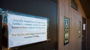 Many federal agencies are currently shuttered.
