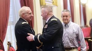 David Graham and Col. Greg Knight