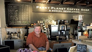 Richard Vaughn of Perky Planet Coffee