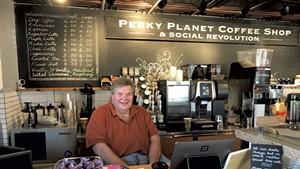 Richard Vaughn of Perky Planet Coffee