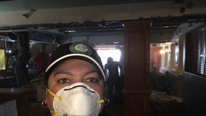 Tree Bertram cleans up at El Gato Cantina in Burlington