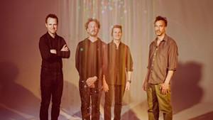 From left: Luke Reynolds, Ryan Miller, Adam Gardner and Brian Rosenworcel