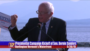 Video: Bernie Sanders' Full Campaign Announcement