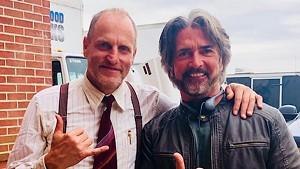 John Fusco with Woody Harrelson