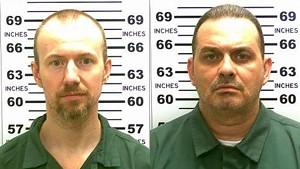David Sweat, left, and Richard Matt.
