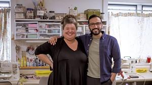 Erin Evarts and José Rincon