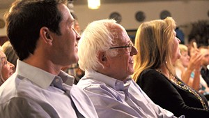 Sen. Bernie Sanders and his family at Our Revolution's August 2016 launch