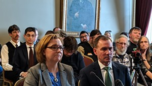 Alyssa and Rob Black testifying before the Senate Judiciary Committee in February