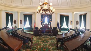 The Vermont Senate room