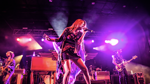 Grace Potter performing at Grand Point North