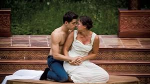 Nick Piacente (left) and Lauren Pisano