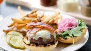 A Farmhouse burger
