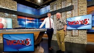 Jay Barton and Peter Martin at WCAX-TV