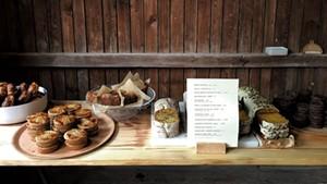Vadeboncoeur's café at Snake Mountain
