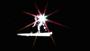 Lt. Doolittle doing a little cosmic surfing in Dark Star