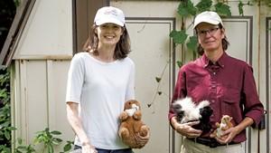 Patty Tashiro and JoAnn Nichols