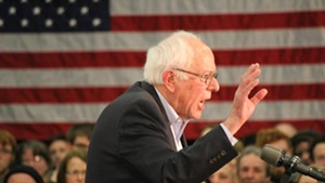 Sen. Bernie Sanders in Iowa in January 2016