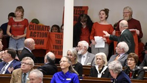 Climate Activists Disrupt Scott's State of the State Address