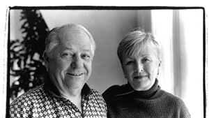 """Robert """"Bobby"""" Miller and his wife Holly in 2000"""