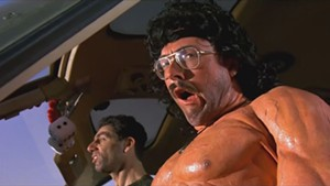 The Rambo parody in UHF.
