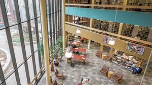 Fletcher Free Library, November 2019