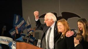 Sen. Bernie Sanders (I-Vt.) and Jane O'Meara Sanders