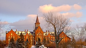 University of Vermont campus in Burlington