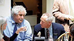 Stephen Klein, at left