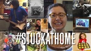 #stuckathome