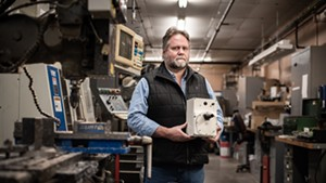 UVM engineer Carl Silver