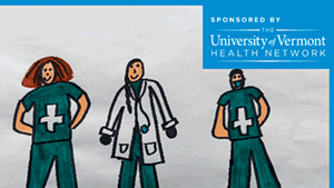 #ThanksHealthHeroes: Share Your Gratitude to UVM Health Network's Frontline Workers