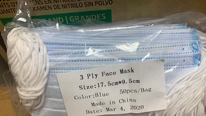 Masks sold to Central Vermont Medical Center