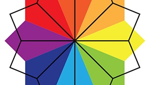 Helen Day Art Center color wheel