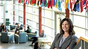 Karen Scolforo, president of Castleton University