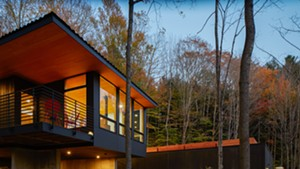 The Mad River House in Warren by McLeod Kredell