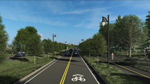 Champlain Parkway plans, from Home Avenue to Lakeside Avenue