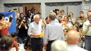 Sen. Bernie Sanders in New Hampshire in September