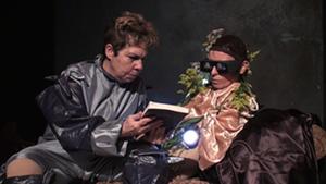 Performance by Carmelita Tropicana and Ela Troyano