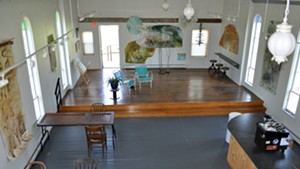 The Kraemer & Kin tasting room at GreenTARA Space
