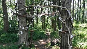 """Portal"" installation in Burlington's New North End"